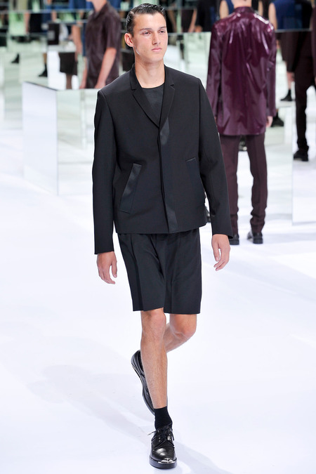 Dior Homme, Spring 2014, Look 47 Photo: Yannis Viamos/InDigital/GoRunway found on www.style.com