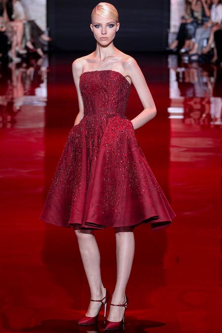 Elie Saab, Fall 2013 Haute Couture, Look 5  Photo: Marcus Tondo/InDigital/GoRunway found on www.style.com