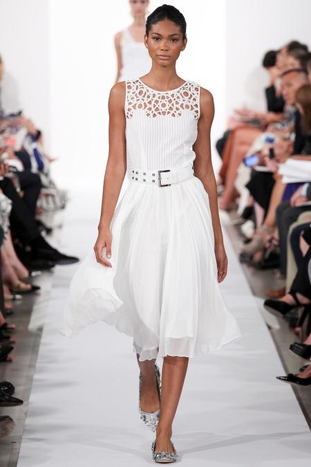 Look 12, Chanel Iman Photo: Marcus Tondo/Indigitalimages.com