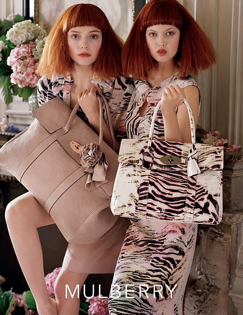 Mulberry Spring 2011 Campaign Photo: http://barbielovesbeauty.blogspot.com/2011_02_01_archive.html