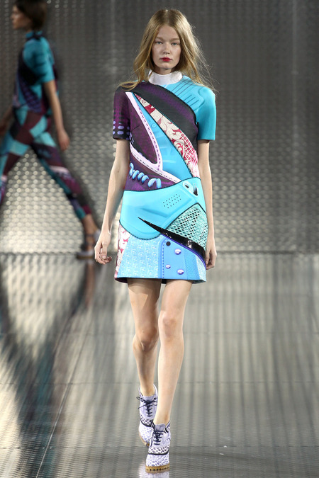 Quixote, Mary Katrantzou, Spring 2014, Look 15  Photo: Marcus Tondo/Indigitalimages.com