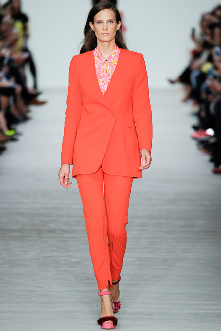 Matthew Williamson, Spring 2014, Look 1  Photo: Umberto Fratini/Indigitalimages.com
