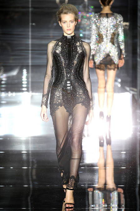 Tom Ford, Spring 2014, Look 36 Photo: Marcus Tondo/Indigitalimages.com