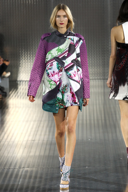 Talfour, Mary Katrantzou, Spring 2014, Look 9  Photo: Marcus Tondo/Indigitalimages.com