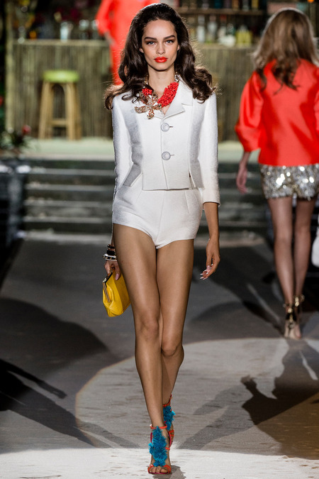 Dsquared2, Spring 2014, Look 10 Photo: Yannis Vlamos/Indigitalimages.com