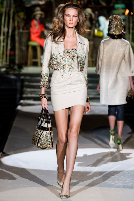 Dsquared2, Spring 2014, Look 28 Photo: Yannis Vlamos/Indigitalimages.com