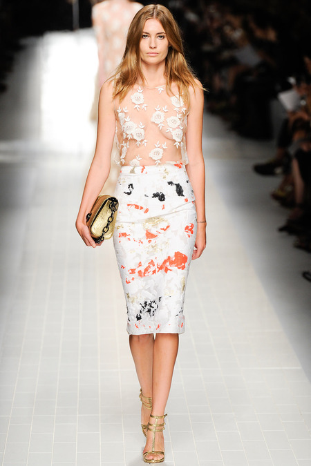 Blumarine, Spring 2014, Look 6 Photo: Umberto Fratini/Indigitalimages.com