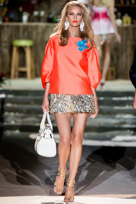 Dsquared2, Spring 2014, Look 9 Photo: Yannis Vlamos/Indigitalimages.com