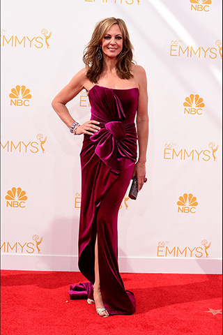 Allison Janney in Nicolas Jebran Photo: Getty Images found on www.style.com