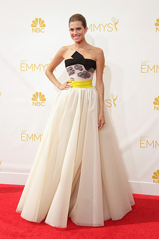 Allison William in Giambattista Valli Haute Couture Photo: Getty Images found on www.style.com