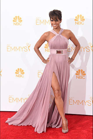 Halle Berry in Elie Saab Photo: Getty Images found on www.style.com