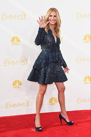 Julia Roberts in Elie Saab Haute Couture  Photo: Getty Images found on www.style.com