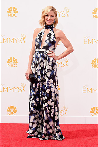 Julie Bowen in Peter Som Photo: Getty Images found on www.style.com
