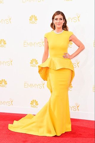 Kate Walsh in Stephane Rolland Couture  Photo: Getty Images found on www.style.com