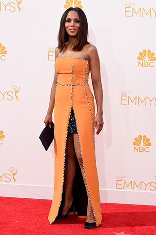 Kerry Washington in Prada Photo: Getty Images found on www.style.com
