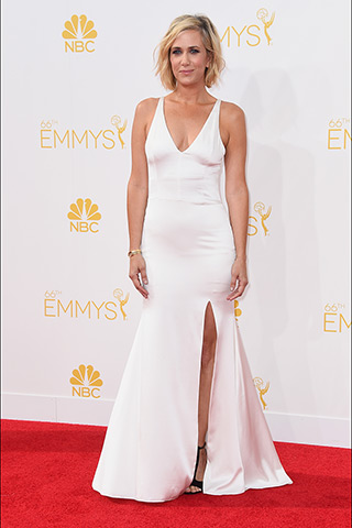 Kristen Wiig in Vera Wang Photo: Getty Images found on www.style.com