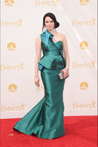 Laura Prepon in Gustavo Cadile  Photo: Getty Images found by www.style.com