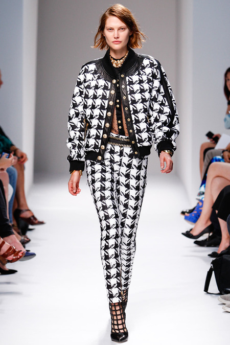 Balmain, Spring/Summer 2014, Look 14 Photo: Monica Feudi/FeudiGuaineri.com found on www.style.com
