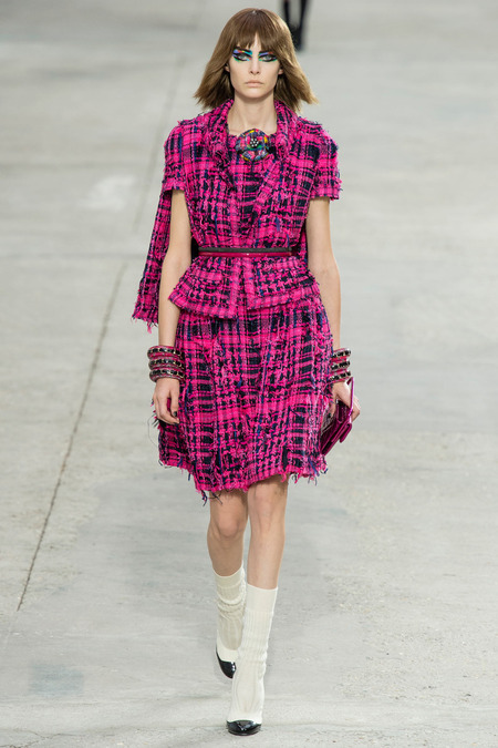 Chanel, Spring/Summer 2014 Collection, Look 15 Photo: Yannis Vlamos/Indigitalimage.com found on www.style.com