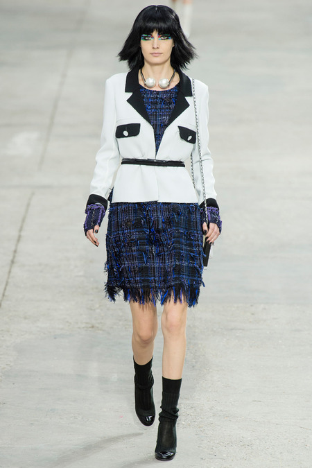 Chanel, Spring/Summer 2014 Collection, Look 17 Photo: Yannis Vlamos/Indigitalimage.com found on www.style.com