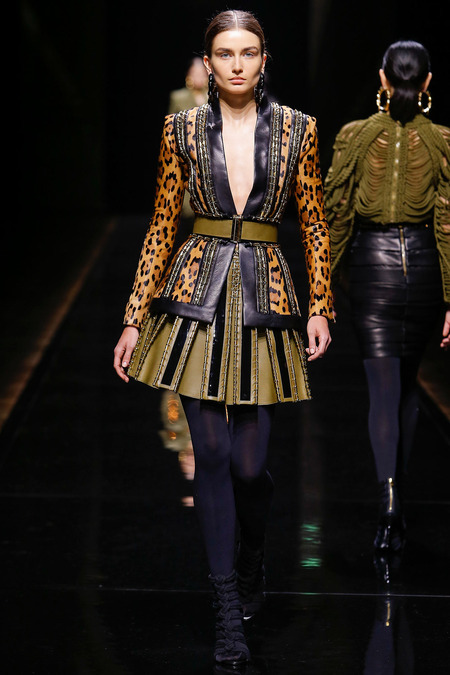 Balmain, Fall/Winter 2014, Look 19 Photo: Monica Feudi/FeudiGuaineri.com found on www.style.com