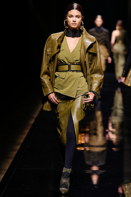 Balmain, Fall/Winter 2014, Look 22 Photo: Monica Feudi/FeudiGuaineri.com found on www.style.com