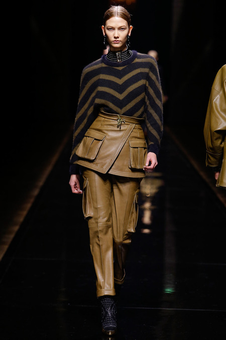 Balmain, Fall/Winter 2014, Look 23 Photo: Monica Feudi/FeudiGuaineri.com found on www.style.com