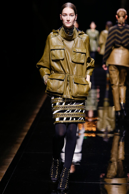 Balmain, Fall/Winter 2014, Look 24 Photo: Monica Feudi/FeudiGuaineri.com found on www.style.com