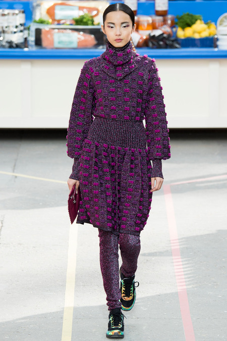 Chanel, Fall/Winter 2014 Collection, Look 30 Photo: Yannis Vlamos/Indigitalimages.com found on www.style.com