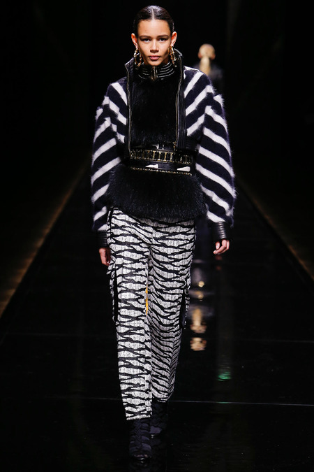 Balmain, Fall/Winter 2014, Look 42 Photo: Monica Feudi/FeudiGuaineri.com found on www.style.com