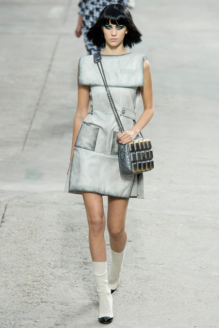 Chanel, Spring/Summer 2014 Collection, Look 44 Photo: Yannis Vlamos/Indigitalimage.com found on www.style.com