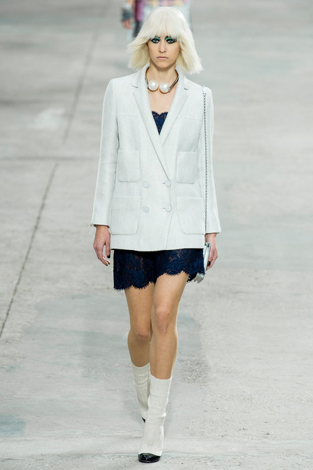 Chanel, Spring/Summer 2014 Collection, Look 53 Photo: Yannis Vlamos/Indigitalimage.com found on www.style.com