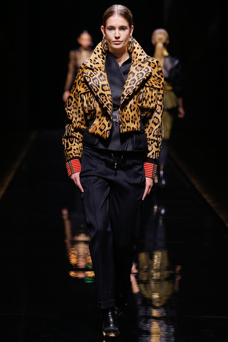 Balmain, Fall/Winter 2014, Look 6 Photo: Monica Feudi/FeudiGuaineri.com found on www.style.com