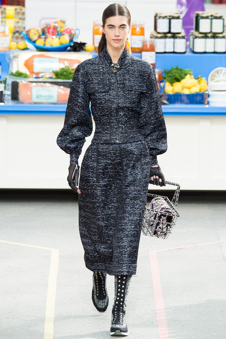 Chanel, Fall/Winter 2014 Collection, Look 63 Photo: Yannis Vlamos/Indigitalimages.com found on www.style.com