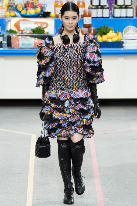 Chanel, Fall/Winter 2014 Collection, Look 73 Photo: Yannis Vlamos/Indigitalimages.com found on www.style.com