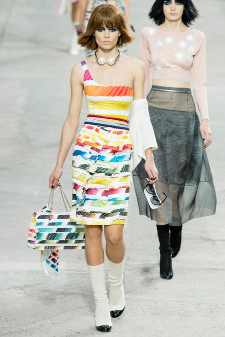 Chanel, Spring/Summer 2014 Collection, Look 78 Photo: Yannis Vlamos/Indigitalimage.com found on www.style.com