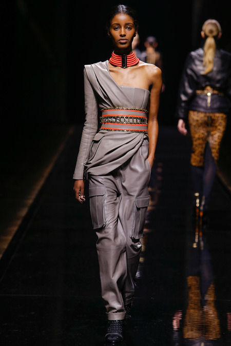 Balmain, Fall/Winter 2014, Look 9 Photo: Monica Feudi/FeudiGuaineri.com found on www.style.com