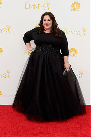 Melissa McCarthy in Marchesa  Photo: Getty Images found on www.style.com