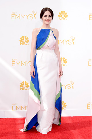 Michelle Dockery in Rosie Assoulin Photo: Getty Images found on www.style.com