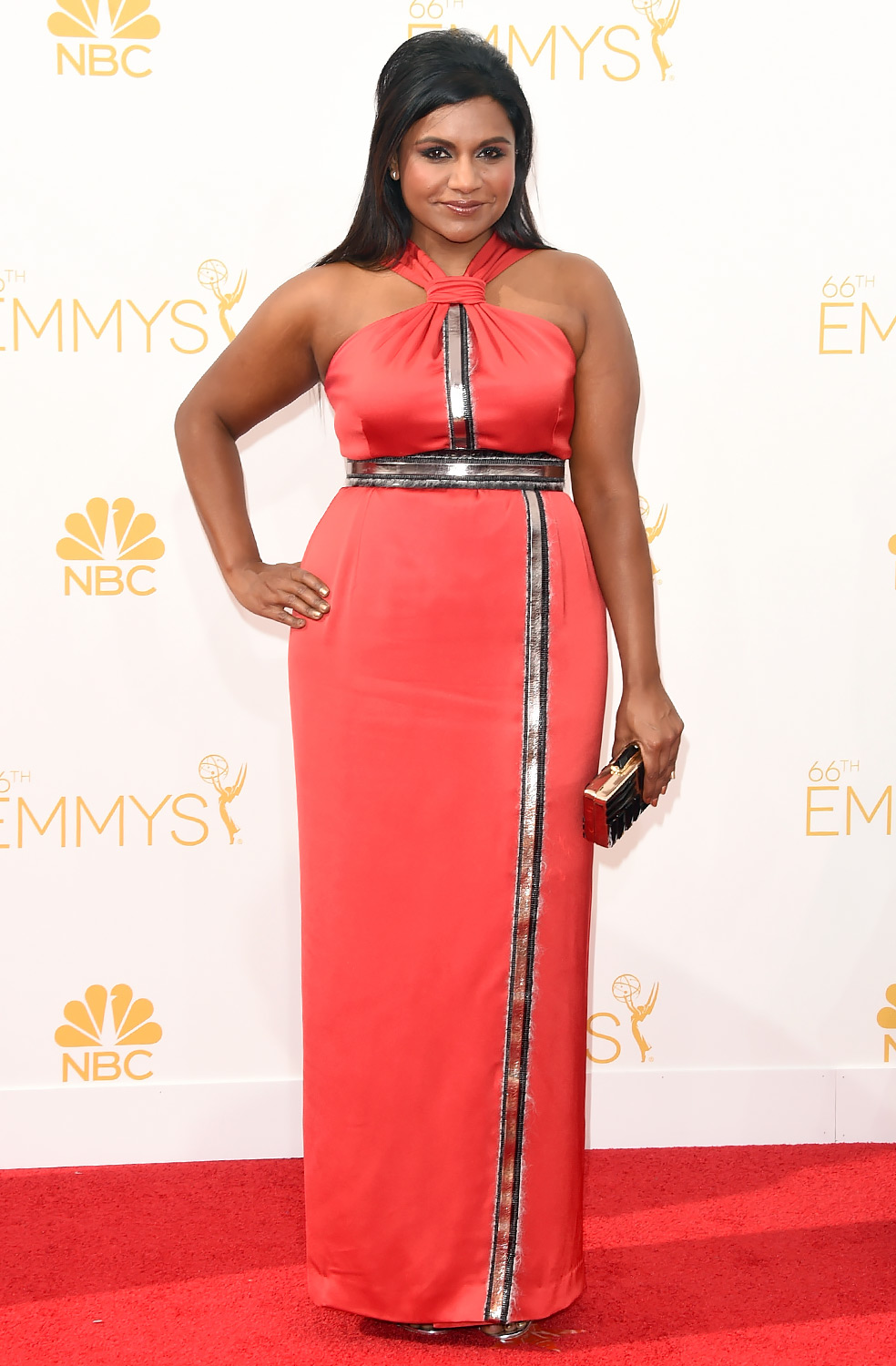 Mindy Kaling in Kenzo Photo: Jason Merritt/GettyImages found on www.usmagazine.com