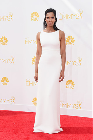 Padma Lakshmi in Ralph Rucci Photo: Getty Images found on www.style.com