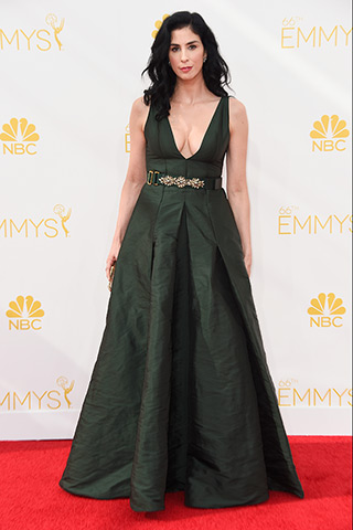 Sarah Silverman in Marni Photo: Getty Images found on www.style.com