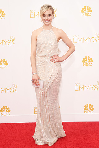 Taylor Schilling in Zuhair Murad Couture Photo: Getty Images found on www.style.com